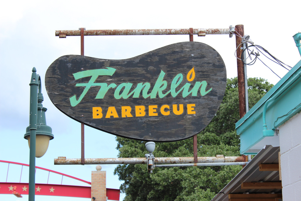 Franklin Barbecue in Austin,TX