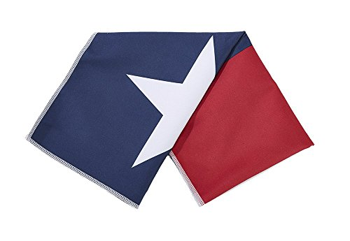 Texas State Flag Microfiber Cooling Towel