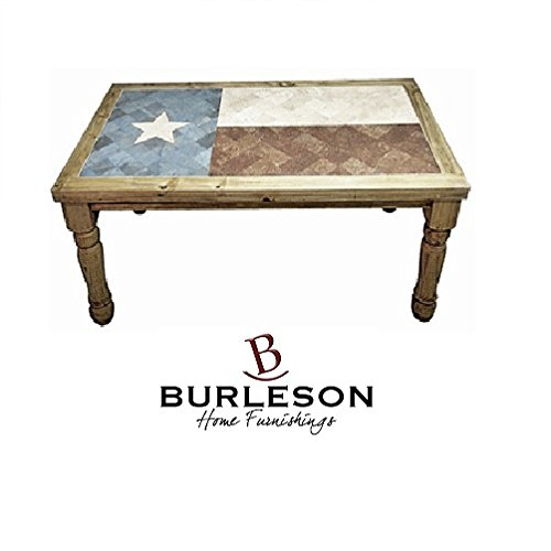 6′ Texas Flag Marble Dining Table