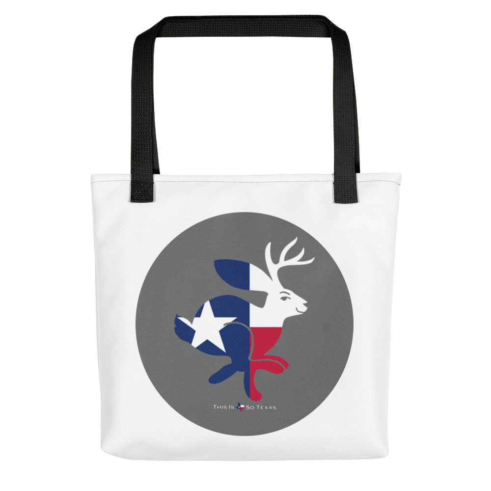 This Is So Texas Jackalope Tote