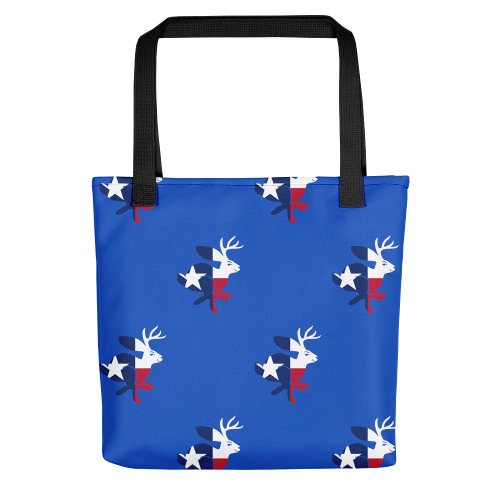 Texas Jackalope All-Over Tote bag