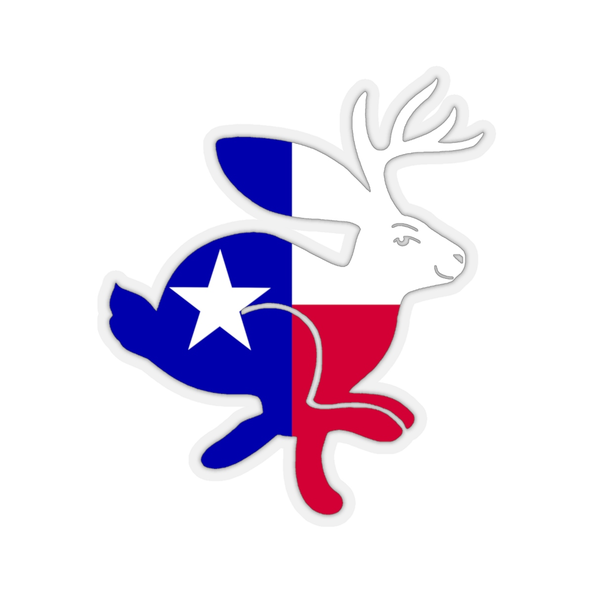 This Is So Texas: TX Jackalope Decal